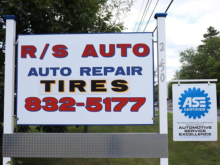 R/S Auto Works, Maine Auto Repair Facility, Auto Service